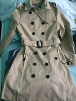 Burberry Beige Trench Coats : Sizes 4 & 6 Available