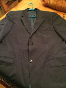 Hugo Boss Blue suit jacket, dress jacket. size 44R