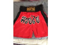 Genuine Muay Thai boxing shorts brand new never used XL