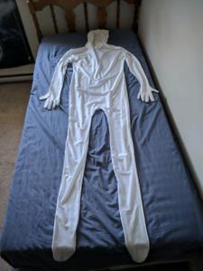 White Morphsuit
