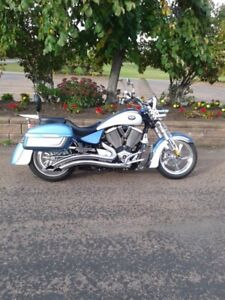 2009 Victory Kingpin PREMIUM motorcyle