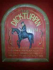 Vintage Wood Bar Sign Collectable