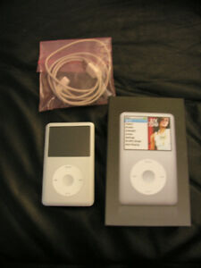 Silver Classic ipod 80g 6th generation  for sell