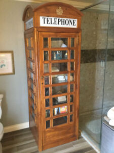 Rare one of kind Replica English Phone Booth