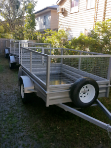 Caged Trailer Hire Cheap