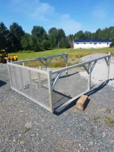 8ft aluminum truck box rack