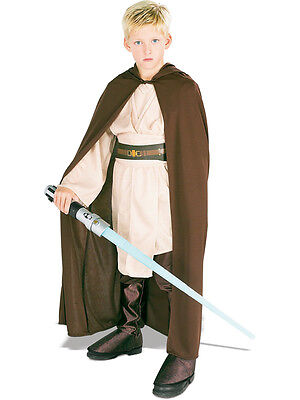 Jedi Robe Boys Fancy Dress Star Wars Luke Skywalker Kids Childrens Costume - Boys Jedi Costume