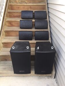 Professional Stereo Used in High End Fitness Facility