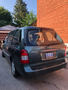 MAZDA MPV 2001 FOR SALE $1,000 OR BEST OFFER!