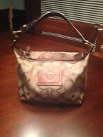 Coach small evening bag
