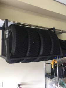 """""""The Tire Rack"""" Branded Tire Storge Track"""
