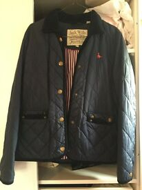 Jack wills women's quilted Barbour-style jacket