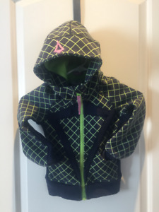 Girls size 4 Ivivva Zippered Hoodie