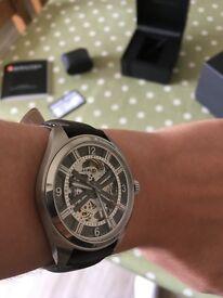 Hamilton khaki skeleton watch