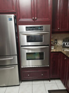KitchenAid Microwave Wall Oven Combo - Very Good Condition