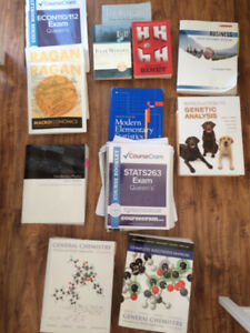 First & second year arts, science and commerce textbooks