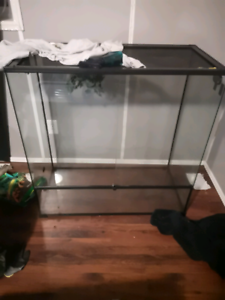 3 foot tall and wide front opening tank