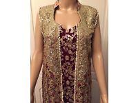 Asian/ Pakistani/ Indian/ Bengali Wedding Dress