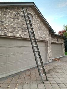 Extension Ladder - Heavy Duty Aluminum 20 ft