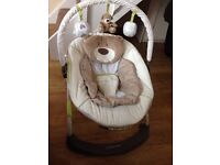 Mothercare chair and baby gym