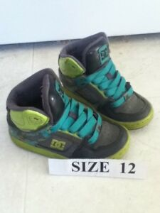 Todder Size 12 DC Running Shoes