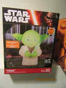 "NEW  ""HALLOWEEN""  YODA STAR WARS INFLATABLE $25 Ancaster"