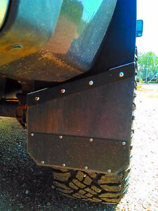 Universal Black Mud Flaps- powder coated  marine aluminum Peterborough Peterborough Area image 1