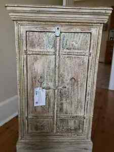 Reclaimed Wood antique cabinet