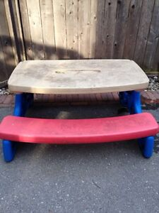 Gently Used Kids Picnic Table