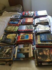 Huge collection guide books and leaflets