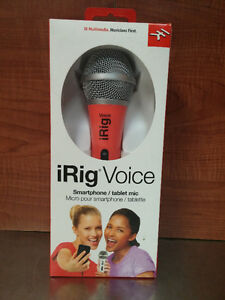 Micro pour Smartphone / tablette iRig Voice