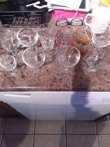 Small size glass cups