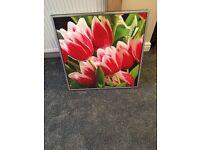 Flower canvas £10