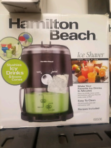 Hamilton-Beach 68506 Ice Shaver