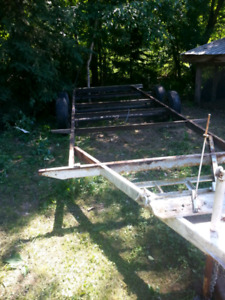 Trailer frame project