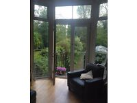 Bright, peaceful room in a clean, happy flatshare bills inc