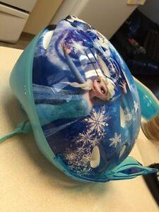 Frozen bike helmet