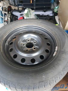 Winter/ snow tires and rims 235/65/17 ford edge or flex