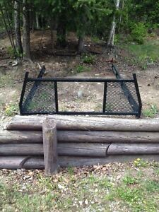 Heavy duty steel headache rack