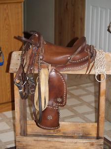 """Western Saddle 11.5""""pony saddle"""
