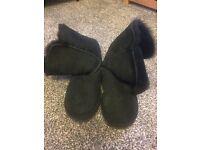 Ugg black boots 6 (fit 4-5)