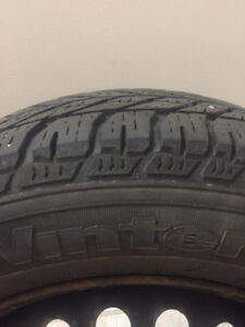 Goodyear Winter Tires & Rims - 90% Tread Left - 195/65/15