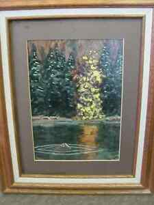For sale by Artist.  Acrylic Painting. Trees