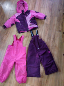Snowsuit size 2T. Louis Garneau & children's place