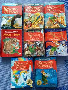 Lot de livres de Geronimo Stilton