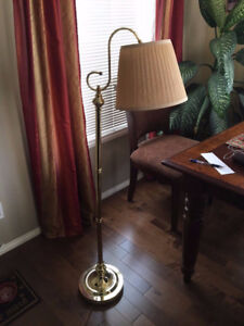 An Elegant Floor Lamp, perfect working condition. Height 5'