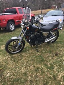 1984 500 Honda shadow special addition