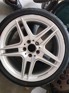 """18"""" Mercedes AMG Rims (Staggered)"""