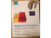 Maths for Chemistry 2nd edition Paul Monk Lindsey J Munro