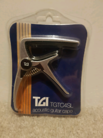 Acoustic Guitar Capo - brand new in packaging